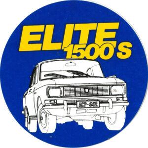 ELITE 1500S -tarra